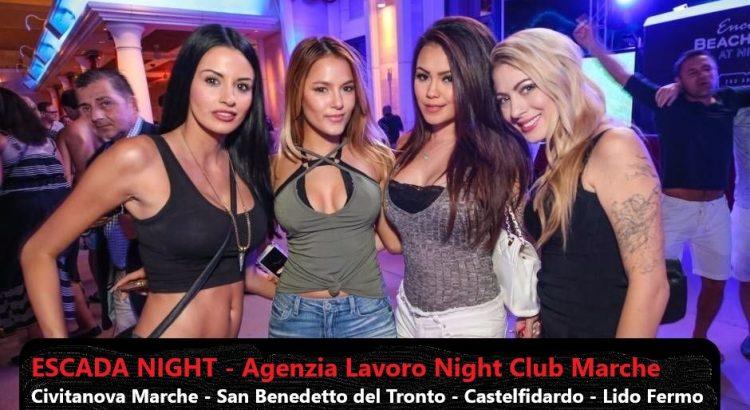 lavoro night club marche